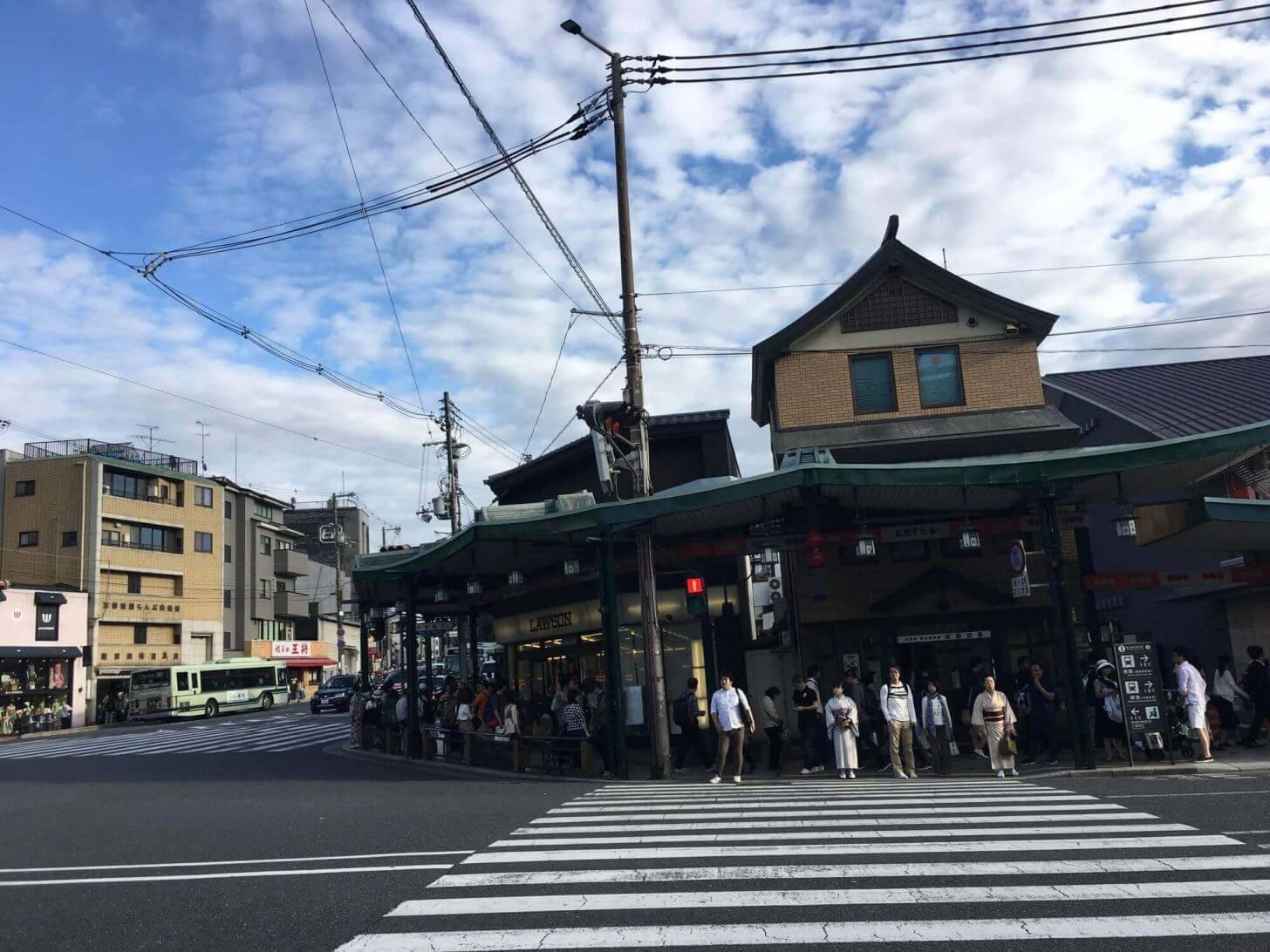 京都市東山区祇園町北側277番地付近の写真