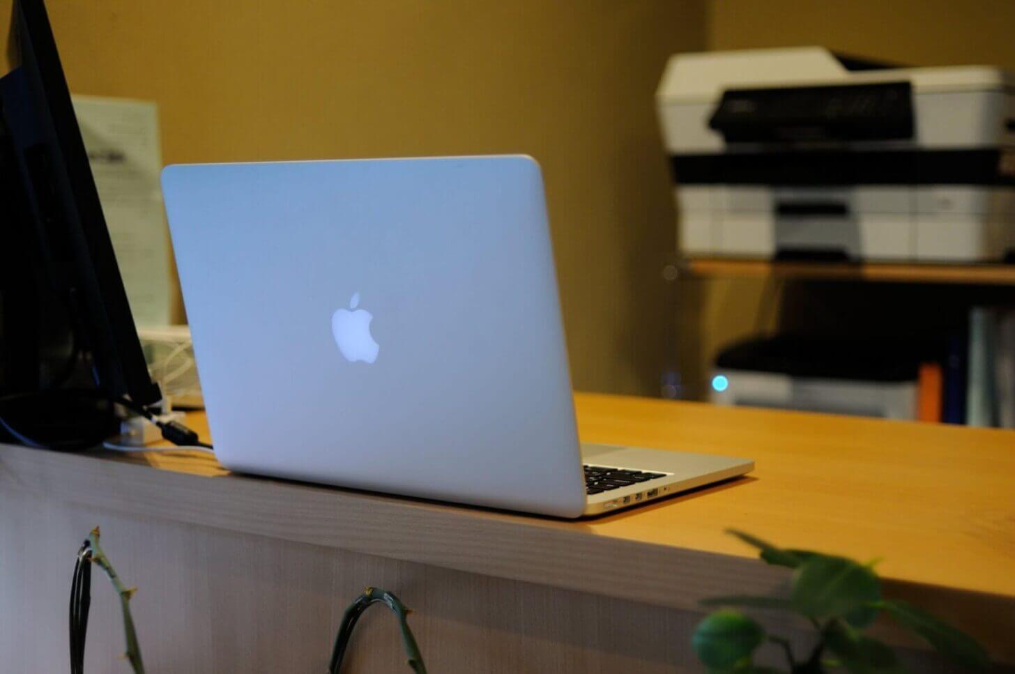 税理士業務で使用してるMac